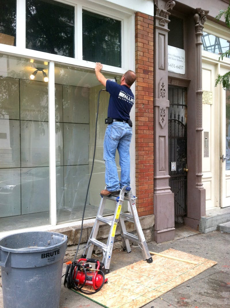 (Storefront, Hyde Park) Plate Glass Replacement