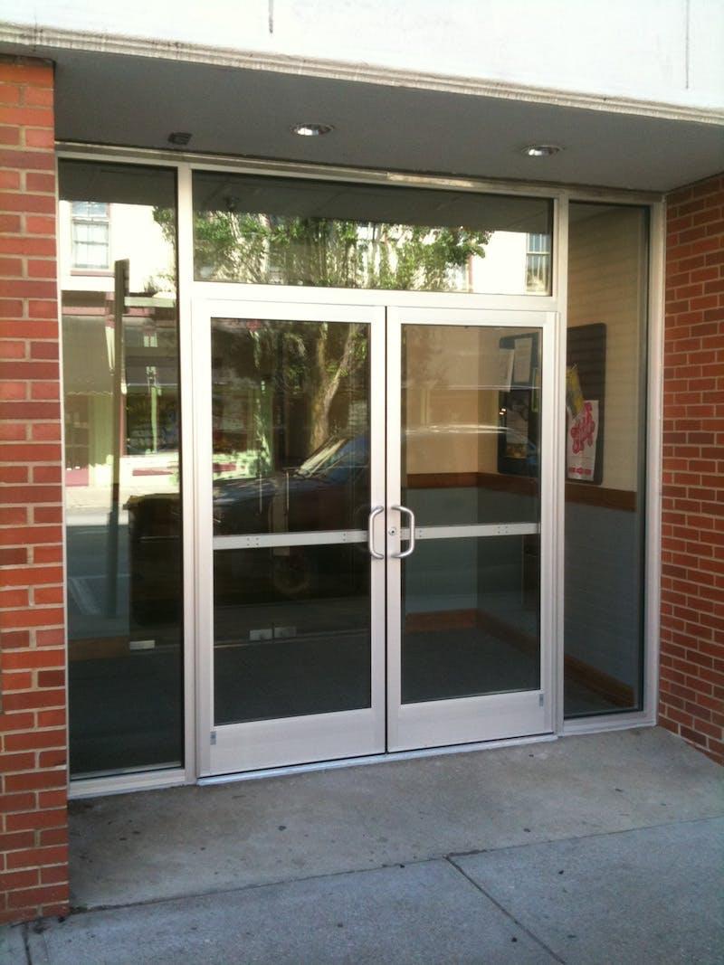 (Covington Latin, Covington) Fabrication of New Commercial Doors