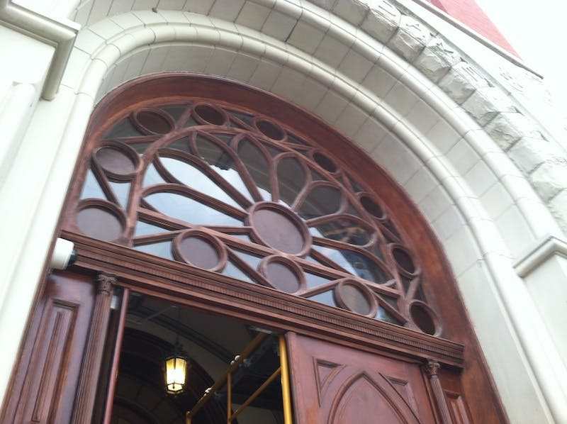 (Summit Country Day, Hyde Park) Replacement Glass in Transom