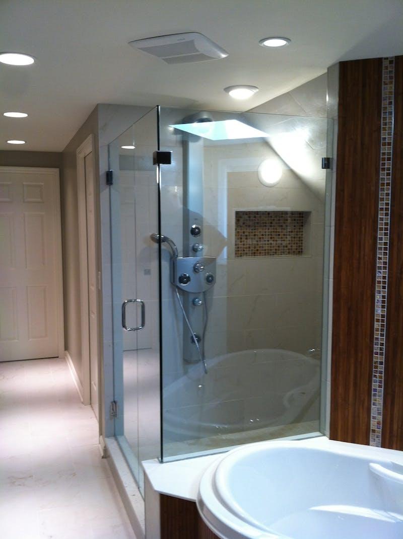 European Shower Installation