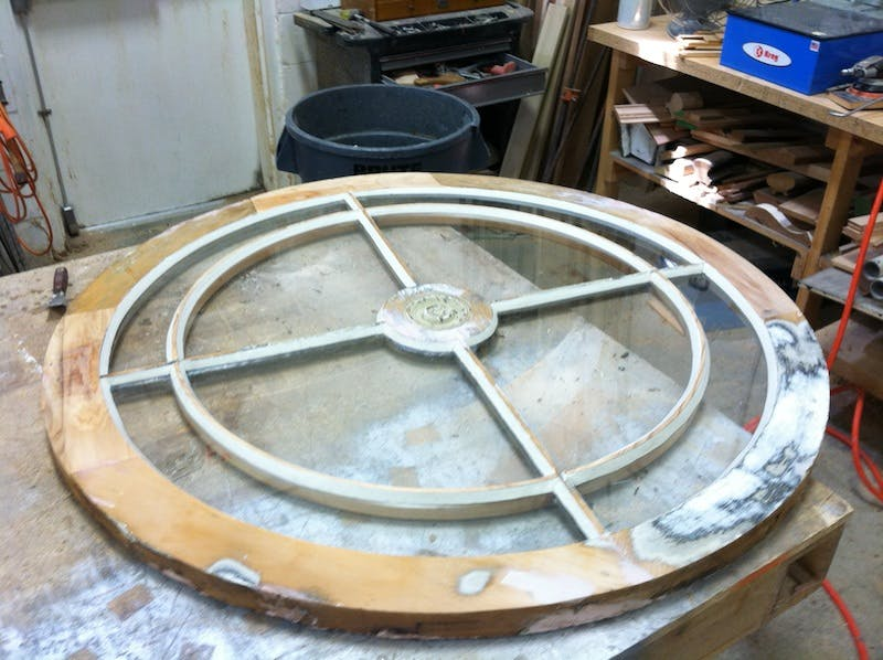 (Stanton Millworks, Cincinnati) Glass to Frame
