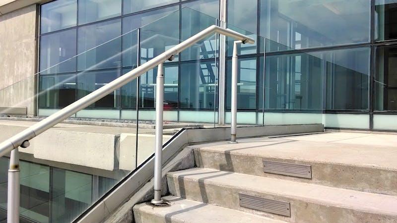 (The Christ Hospital, Mt. Auburn) Stairway Glass