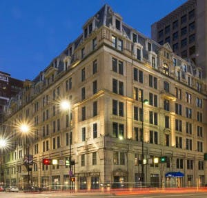 Allied Glass & Mirror installed sound controlled glass in windows at this historic hotel.