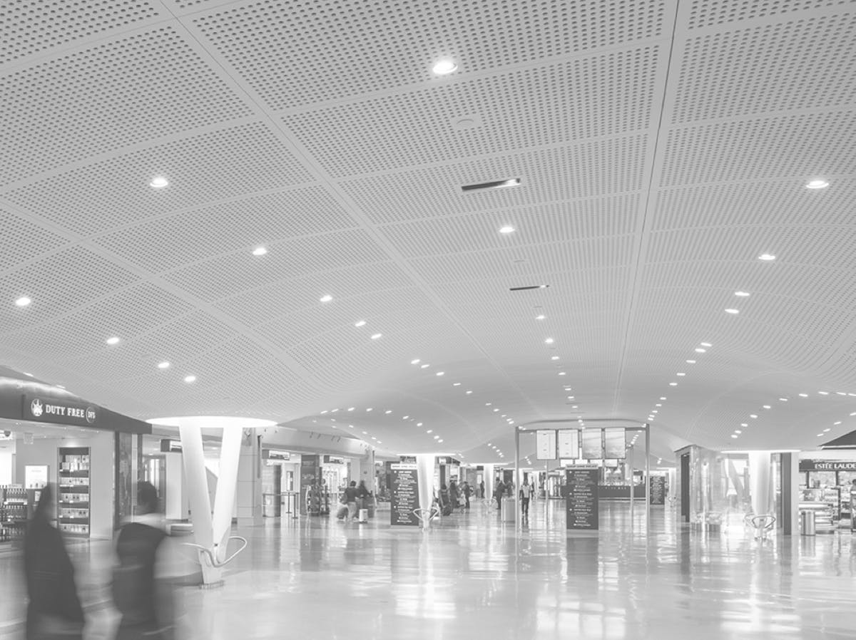 interior of JFK terminal 4