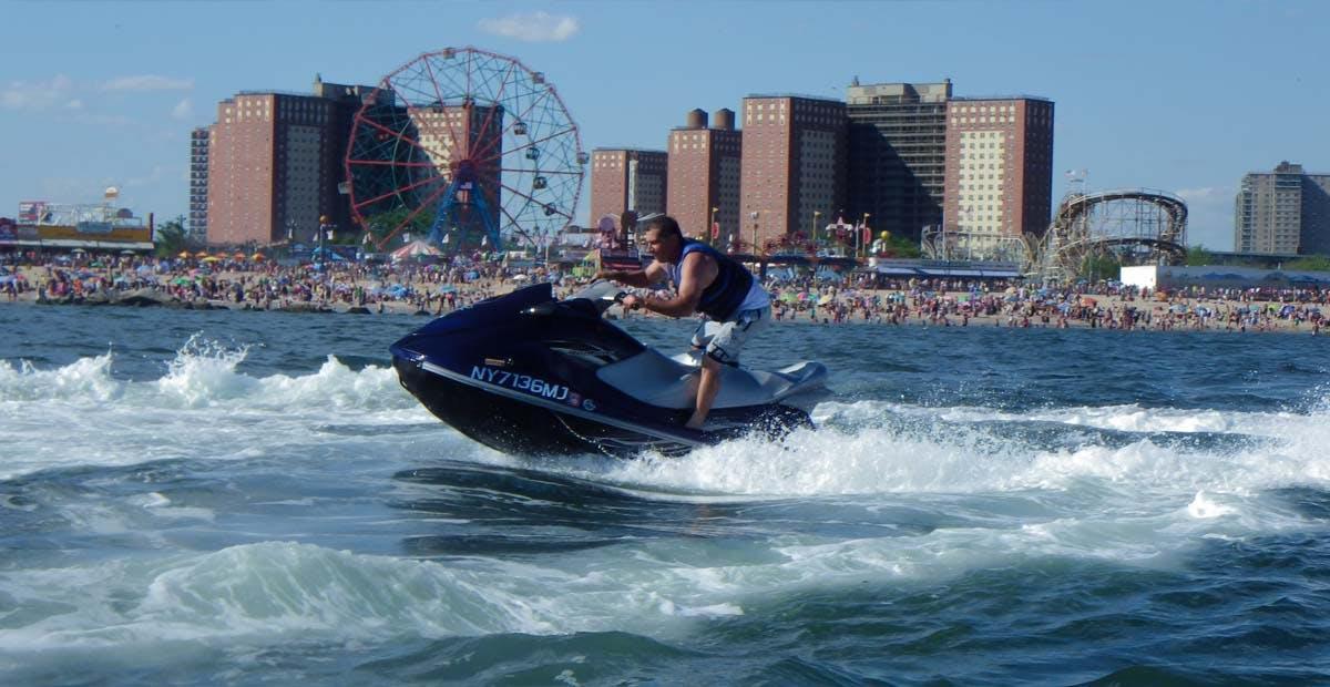 Jet Ski by Coney Island