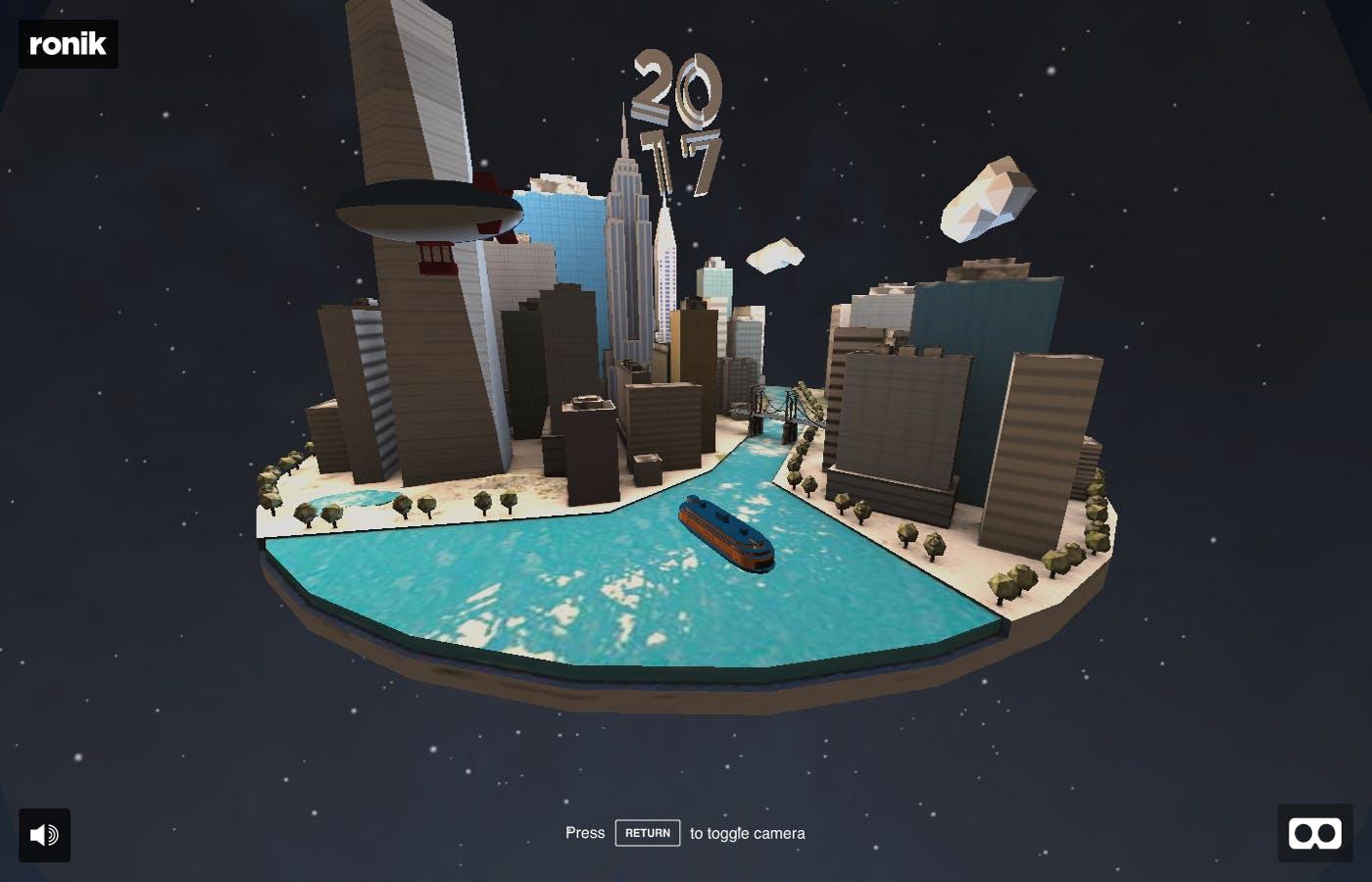 NYC VR Snowglobe