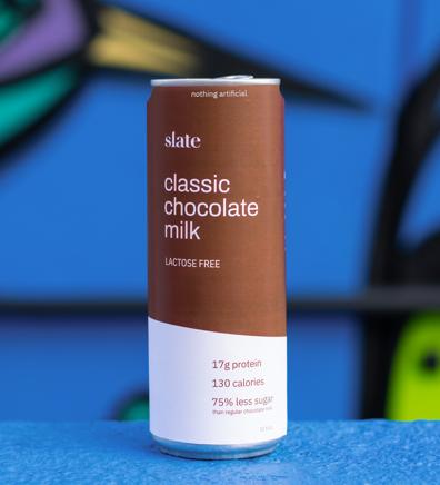 slate milk glam shot