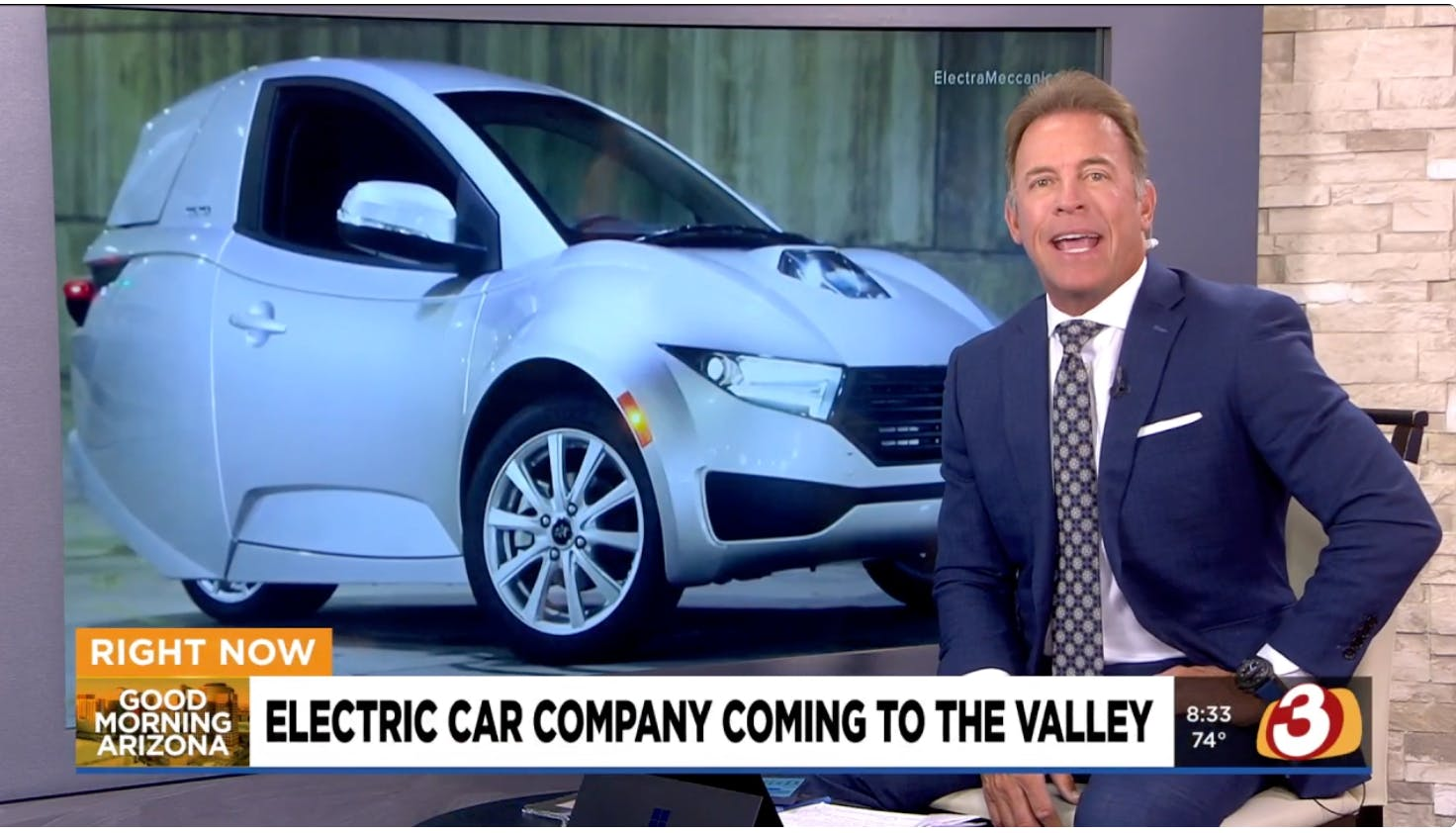 AZ Family: ElectraMeccanica is coming to Mesa