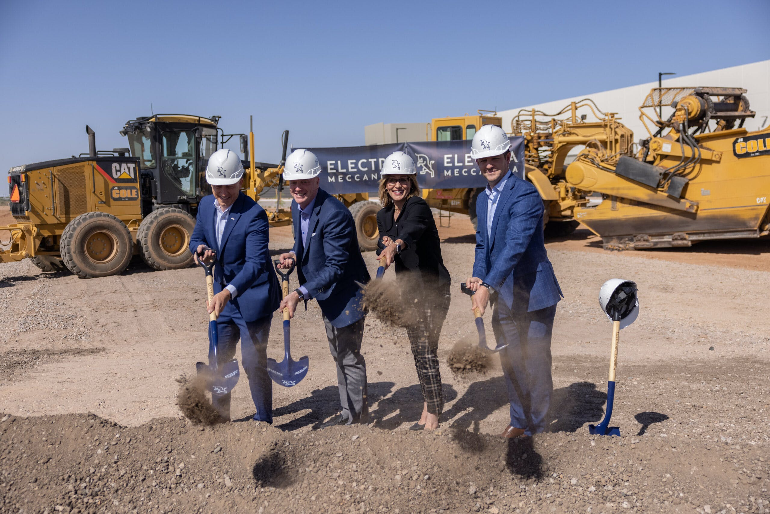 ElectraMeccanica breaks ground on new U.S. assembly and engineering plant in Mesa, AZ