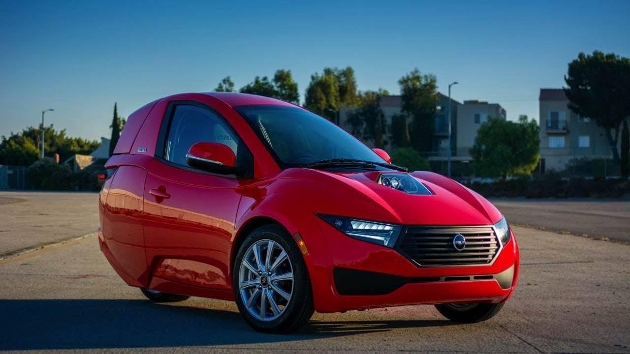 Slashgear: ElectraMeccanica Solo EV First Drive – Electric three-wheeler is oddly appealing