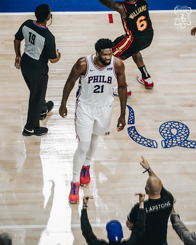 Source: Twitter.com/Philadelphia 76ers