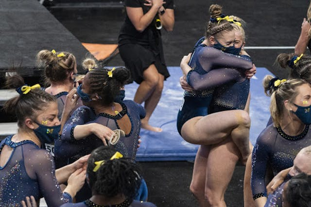 Source: Michigan Women's Gymnastics/Twitter