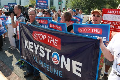 Urge Wells Fargo not to fund the Keystone XL Pipeline