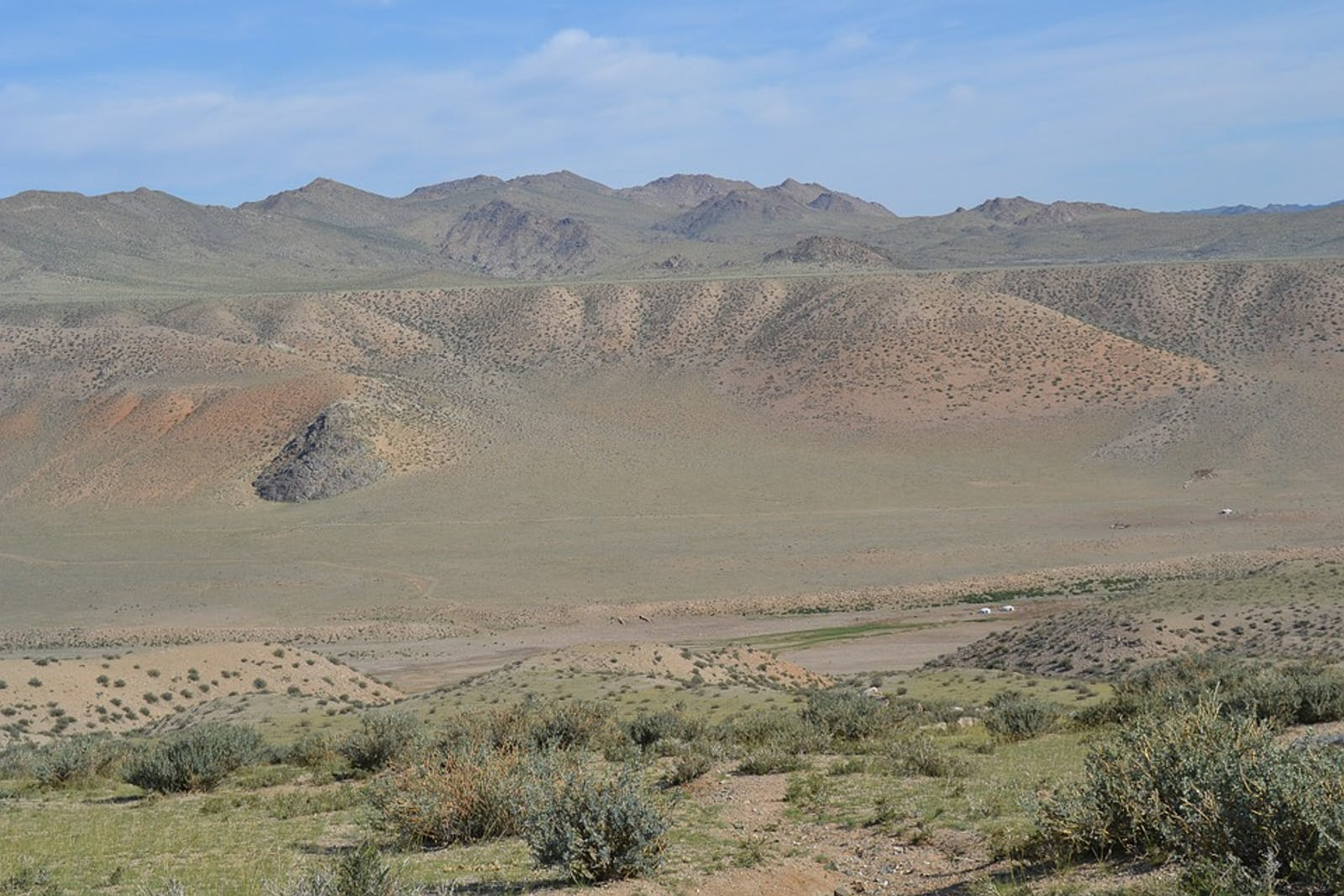 Gobi Lakes Valley Desert Steppe