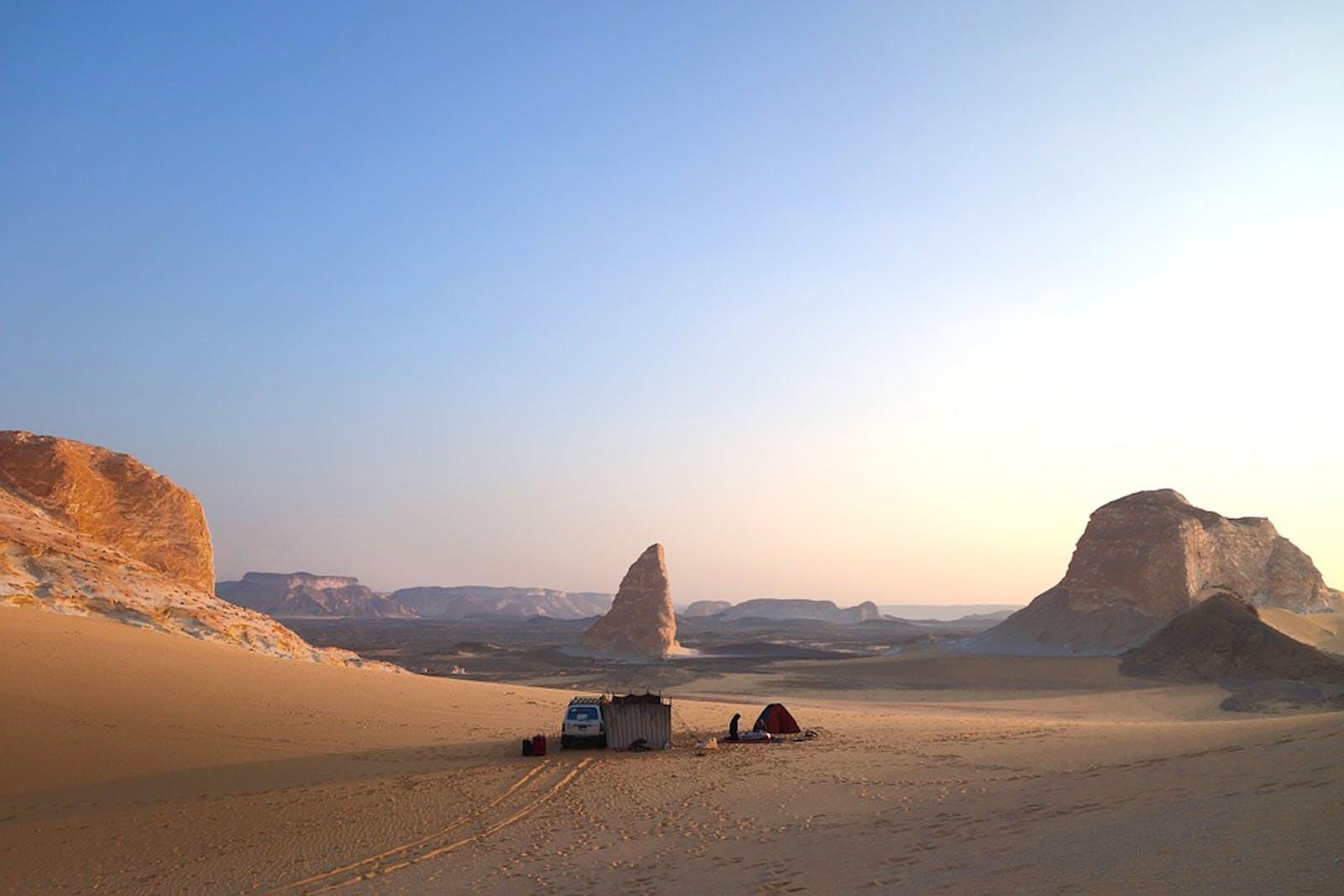 East Sahara Desert