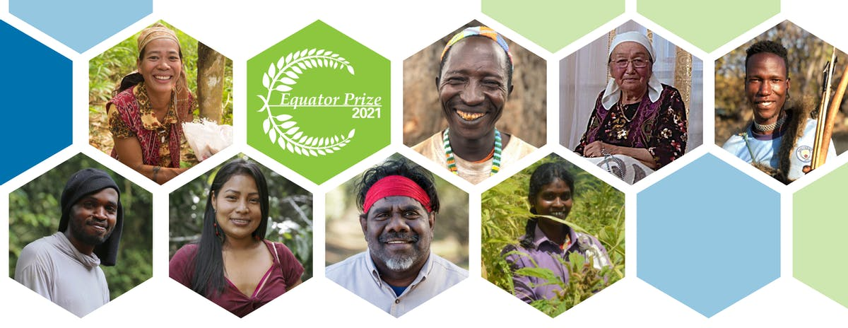 Introducing the 2021 Equator Prize Winners