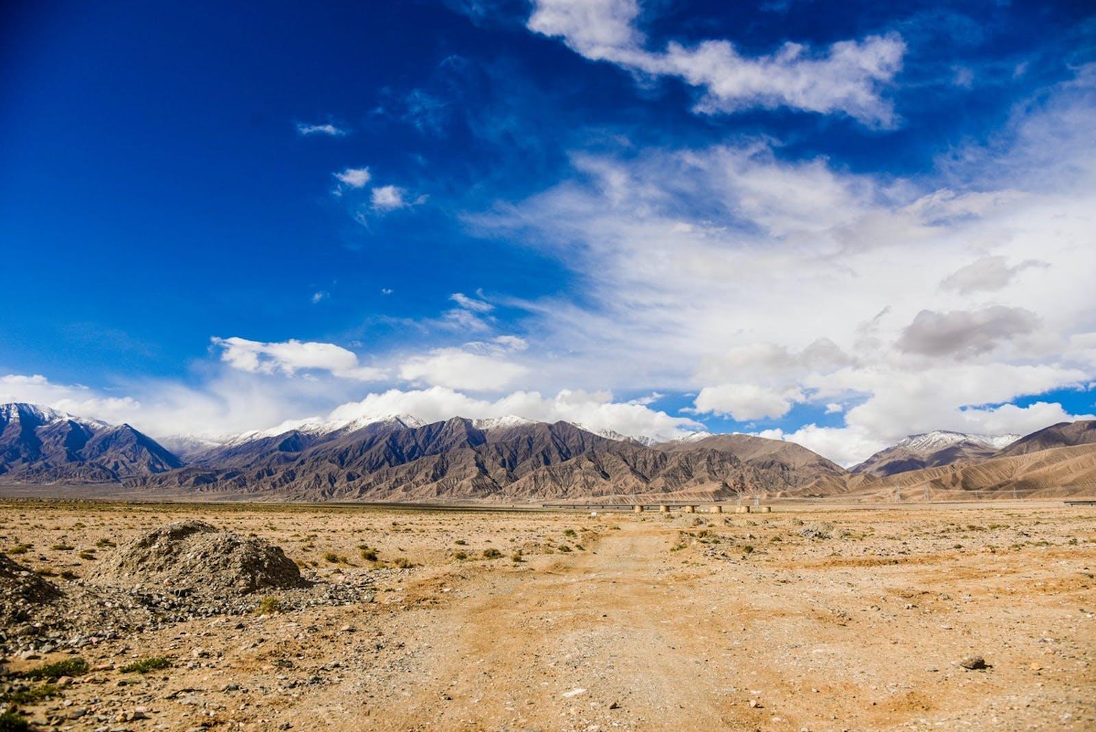 Qaidam Basin Semi-Desert