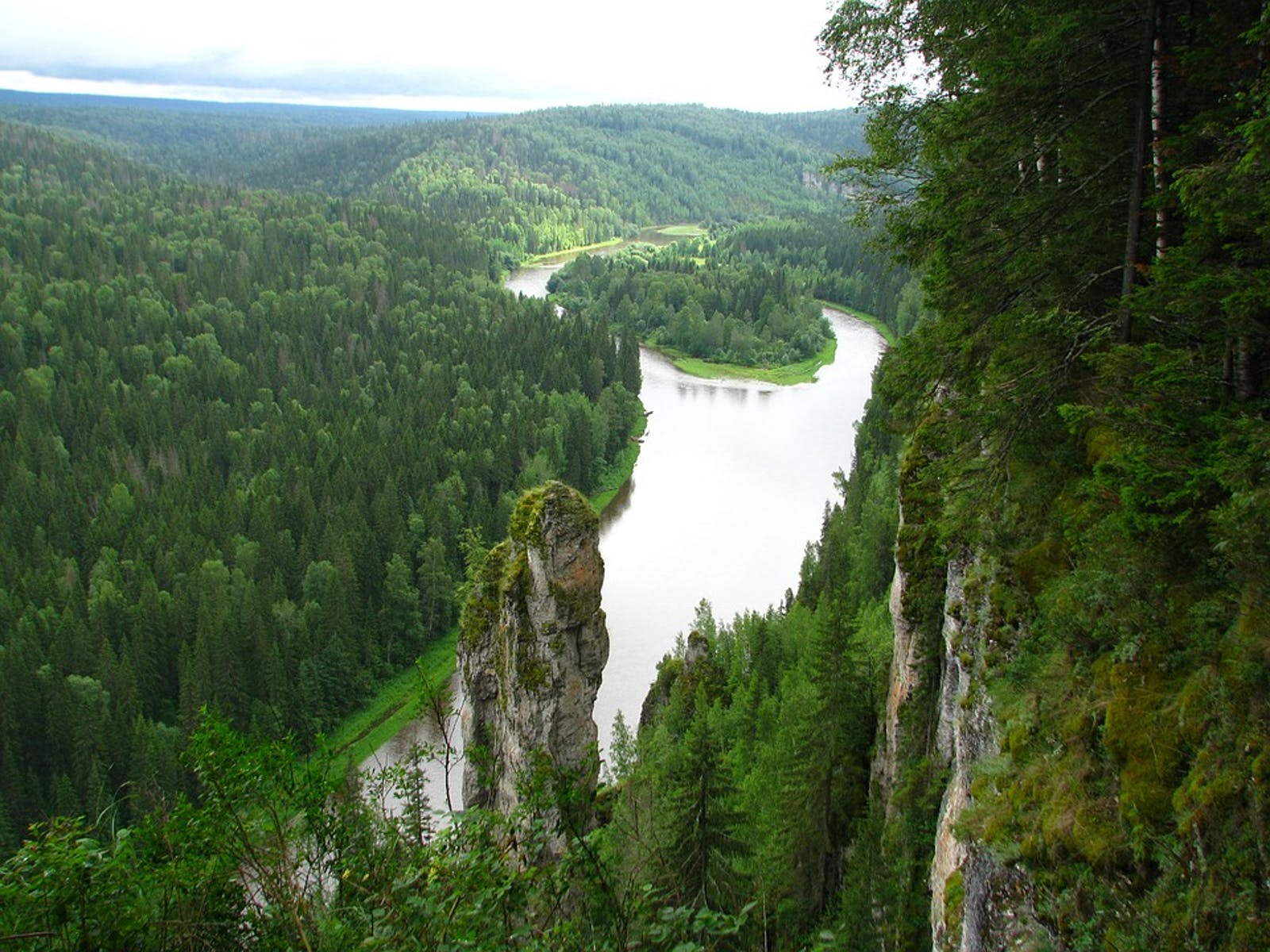 Urals Montane Forest and Taiga