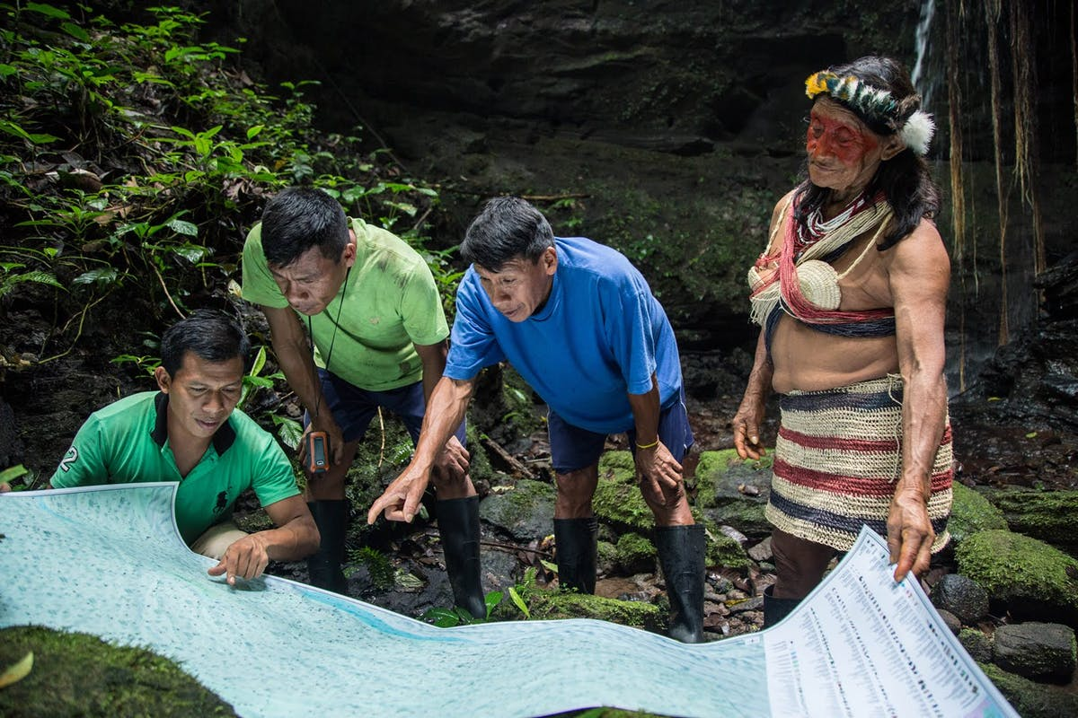 Strengthening Indigenous-led Mapping and Real-time Monitoring in the Upper Amazon