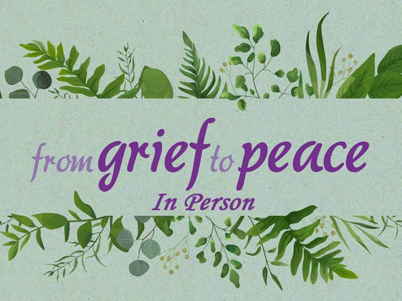 Grief to Peace November 2021