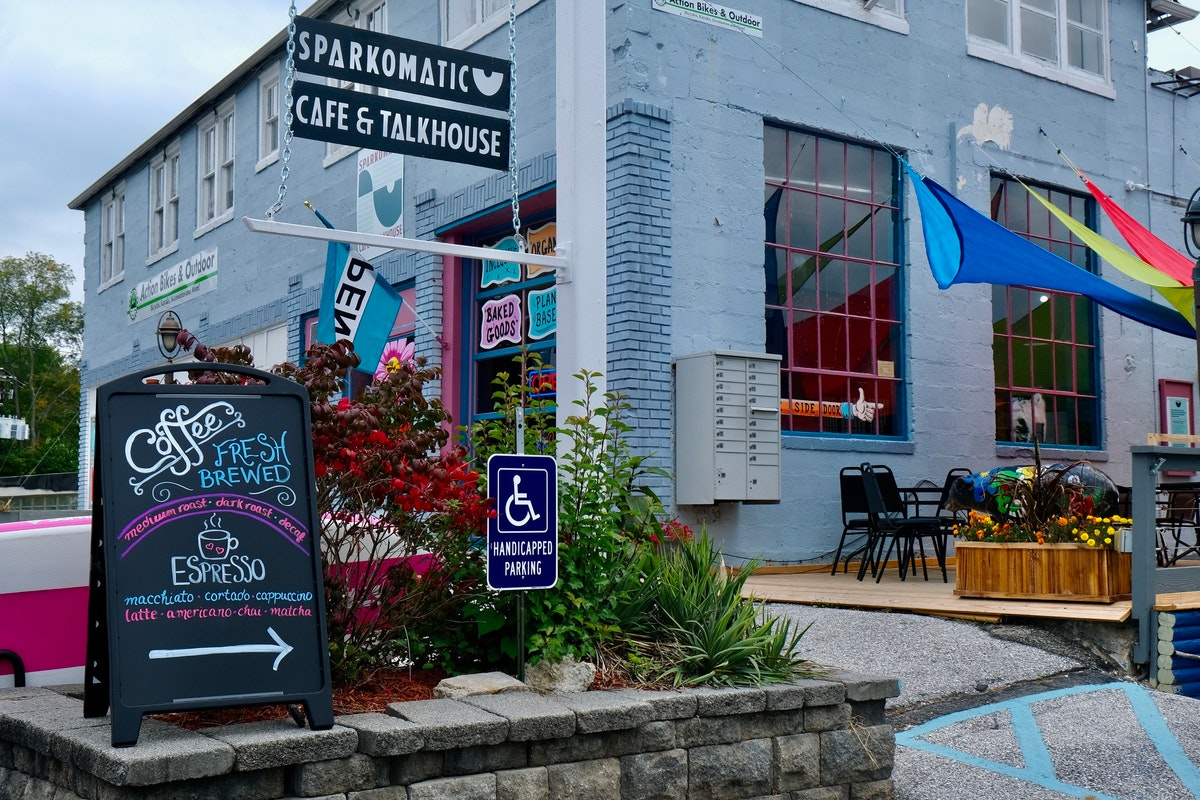 Sparkomatic Cafe and Talkhouse