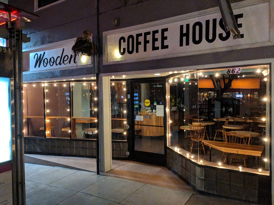 Wooden Coffeehouse