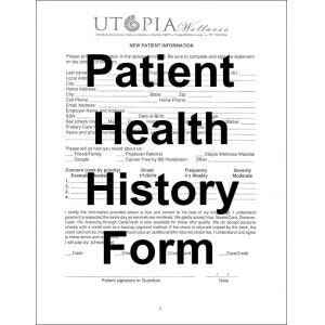 Patient Health History Form