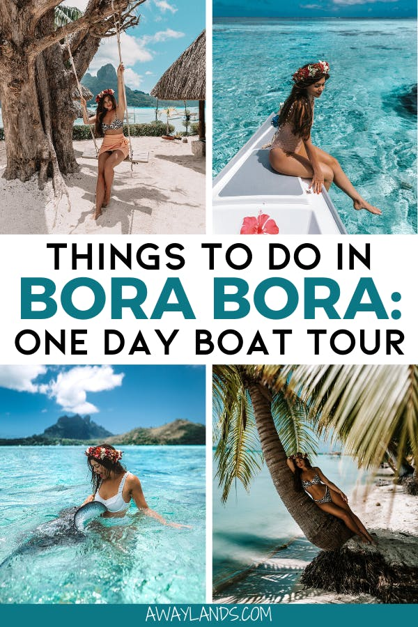 Planning a trip to Bora Bora? Find out why this is the best boat tour of Bora Bora and why it is a must for your trip! #borabora #southpacific #tahiti #frenchpolynesia | things to do in Bora Bora | Bora Bora day trip | Bora Bora day tour | Bora Bora boat tour | Bora Bora island hopping | Bora Bora snorkeling | Bora Bora photography | Bora Bora vacation | Bora Bora honeymoon | Bora Bora pictures | Bora Bora activities | Bora Bora travel | Bora Bora vacation things to do | Bora Bora bucket list