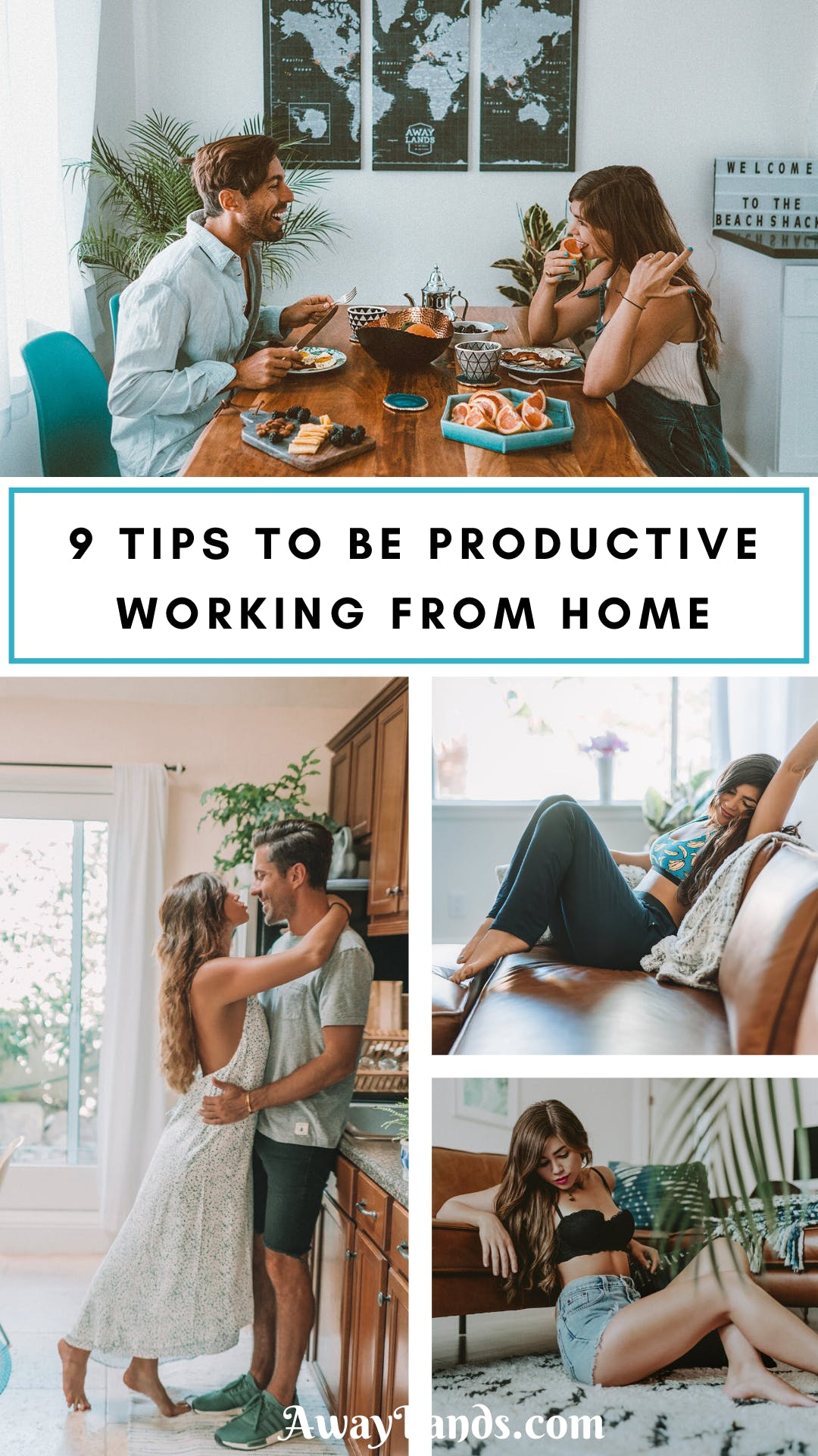 Struggling with working from home? Check out our list of 9 tips for how to be productive working from home from a couple who has worked at home together for years. #workfromhome #productivity | productivity hacks | productivity tips | productive day routine | working from home tips | working from home couple | working at home | how to be productive working from home | working from home productivity | being productive working from home | work from home tips | work from home productivity tips |