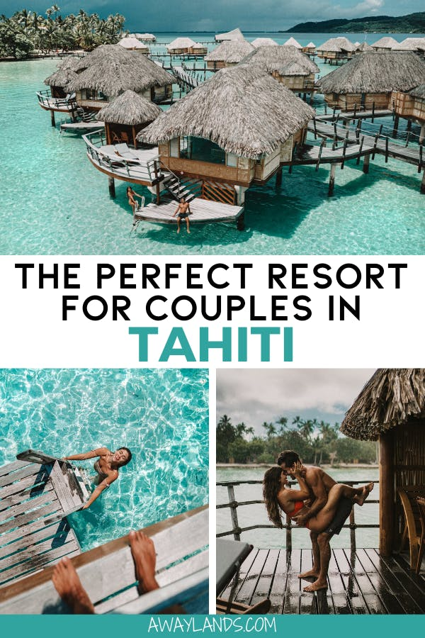 Le Taha'a Island Resort and Spa is the perfect resort for couples in Tahiti and would make for an amazing honeymoon in Tahiti. Get the full review plus lots of photos here! #tahiti #frenchpolynesia #honeymoon #luxurytravel | Le Taha'a Island Resort & Spa | Tahiti resorts | Tahiti honeymoon bungalows | Tahiti honeymoon romantic | Tahiti honeymoon French Polynesia | Tahiti bungalow French Polynesia | Tahiti bungalow couple photography | Tahiti overwater bungalow | overwater bungalow honeymoon