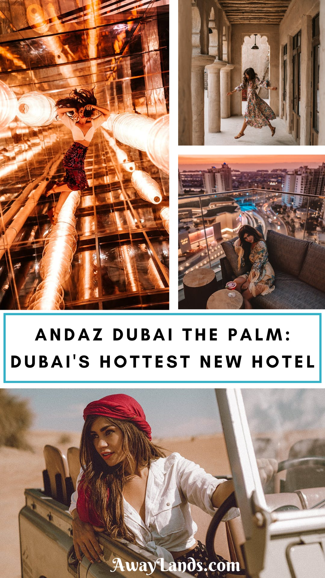 Andaz Dubai The Palm is Dubai's newest and hottest hotel with an amazing rooftop bar. Click here for a full review and video! #dubai #luxuryhotel #luxurytravel | Dubai hotel luxury | Dubai hotel interior | Dubai hotel room | Dubai hotel pool | Dubai hotel lobby | Dubai hotel view | Dubai hotel design | Dubai hotel beach | Dubai hotel photography | Dubai hotel Palm | Dubai travel things to do in | Dubai travel hotel | Dubai travel amazing views | Dubai travel where to stay | Dubai travel luxury