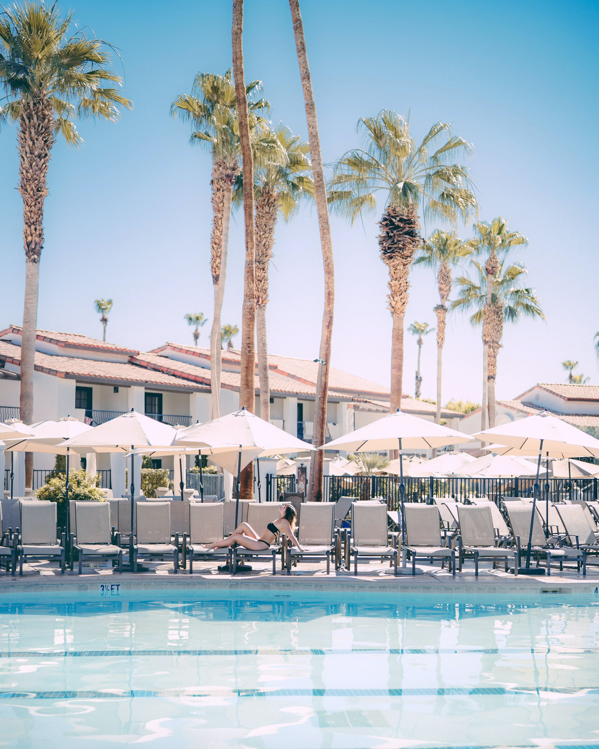 Waking Up In The Omni, Palm Springs