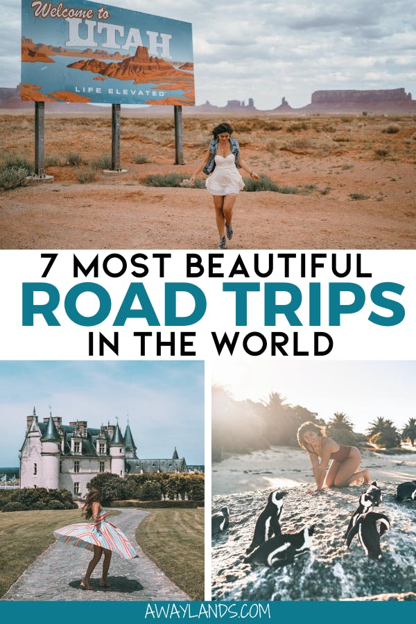 Find the 7 best road trips and most beautiful road trips in the world including tips and itineraries to take your next bucket list road trip! #roadtrip #bucketlist #travel | worlds best road trips | best road trips around the world | best road trips in america | best road trips in europe | best road trips in america west coast | best road trips in the us | road trip ideas for adults | best road trip destinations | beautiful road trip destinations | best road trip destiniations bucket list