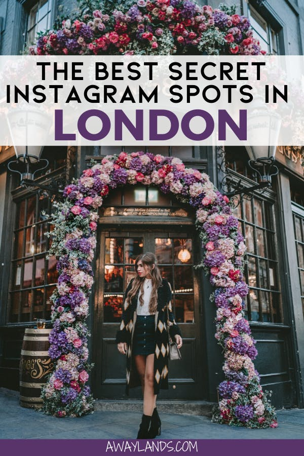 Find 13 lesser known hidden gem Instagram photo spots in London to add to your London itinerary. #london #visituk | London travel | things to do in London | travel London | London attractions | lovely London | London England things to do in | London photo spots | London Instagram pictures | London Instagram photo spots | Instagrammable places in London | secret London photo spots | London photoshoot ideas | London fashion | London what to wear | London Instagram picture ideas