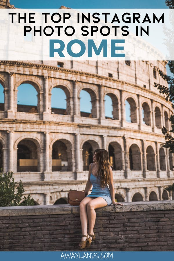 Rome is full of photo spots, but these are the 8 most Instagrammable places in Rome, Italy. Click here and save them for your next trip! #rome #italy #europe | things to do in Rome Italy | Rome Italy Instagram picture ideas | Rome Italy Instagram pictures | Rome Instagram photo spots | Rome Instagrammable places | what to wear in Rome Italy | Rome Instagram inspiration | Rome most Instagrammable | Rome photo ideas summer | Rome Italy travel beautiful places | Rome Italy travel pictures