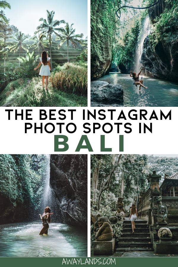 Click here for a Bali photo guide to the most Instagrammable places in Bali. #bali #indonesia #instagrammable #travel | things to do in Bali Indonesia | things to do in Bali bucket list | Instagrammable places Bali | Bali Instagram pictures | Bali Instagram ideas | Bali Instagram photo spots | Bali Instagram picture ideas | poses for pictures Bali Instagram | Instagram pictures in Bali | Bali photo ideas Instagram | Bali photo shoot | Bali photo inspiration | Bali girl photo | Bali travel tips