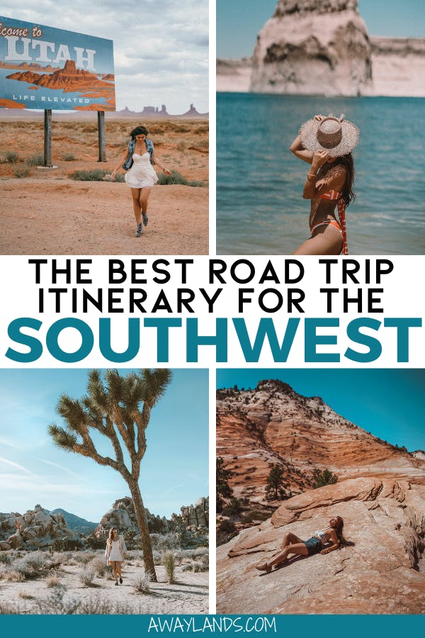 Get the perfect 7 day itinerary for a Southwest US road trip here with the best stops in the Southwest USA. #usroadtrip #southwestusa | southwest us travel | southwest usa roadtrip | southwest usa road trip | southwest usa vacation | southwest usa trip | road trip southwest usa | road trip southwest america | southwest road trip itinerary | american southwest road trip | southwest national parks road trip | road trip southwest usa