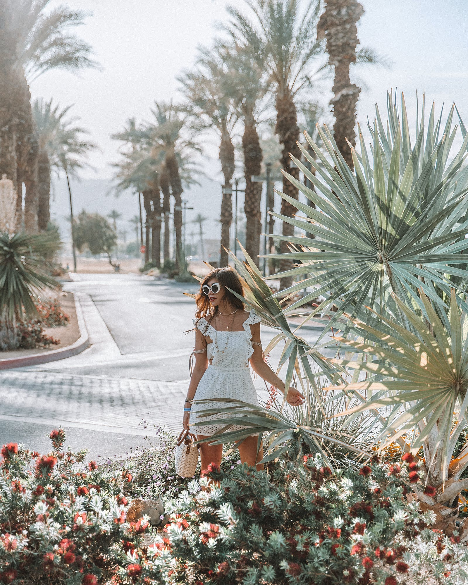 Exploring The Palm Springs Desert Festival Fashion With Revolve