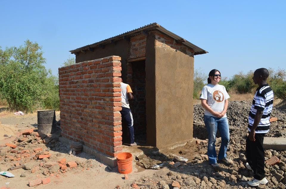 Kinyika toilet courtesy of health benefits provided by Ruaha Carnivore Project