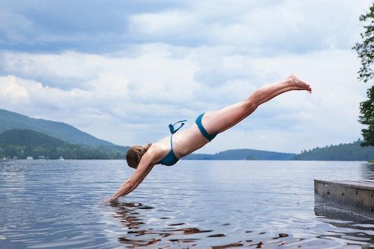 dive lake waters