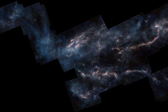 mosaic of the Taurus Molecular cloud from ESA's Herschel observatory