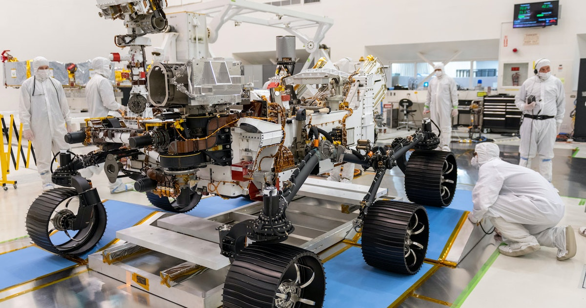 How the age of Mars rovers began