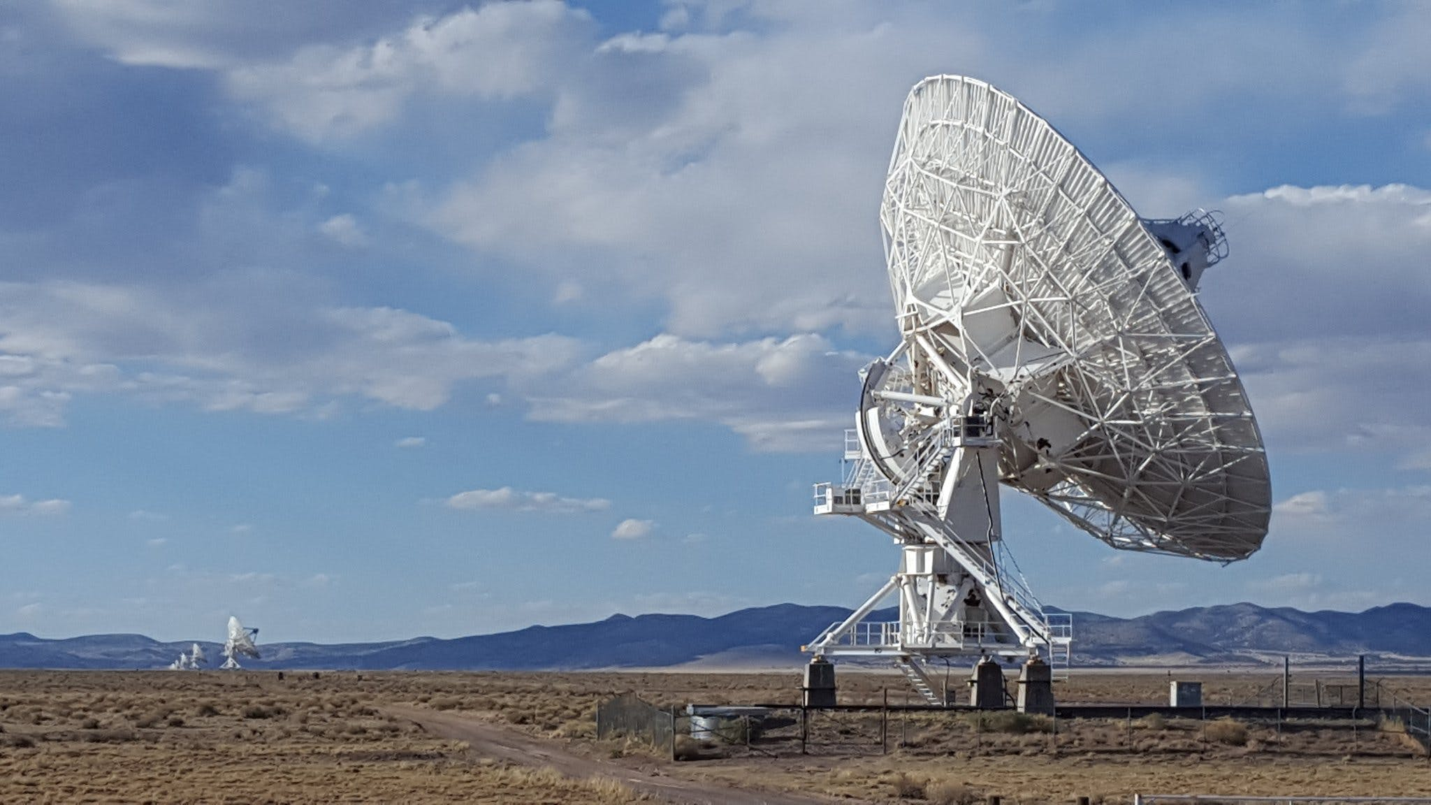 The Karl G. Jansky Very Large Array in New Mexico