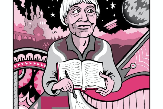 Ursula K. Le Guin illustration