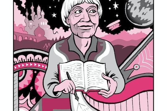 Ursula K. Le Guin illustration