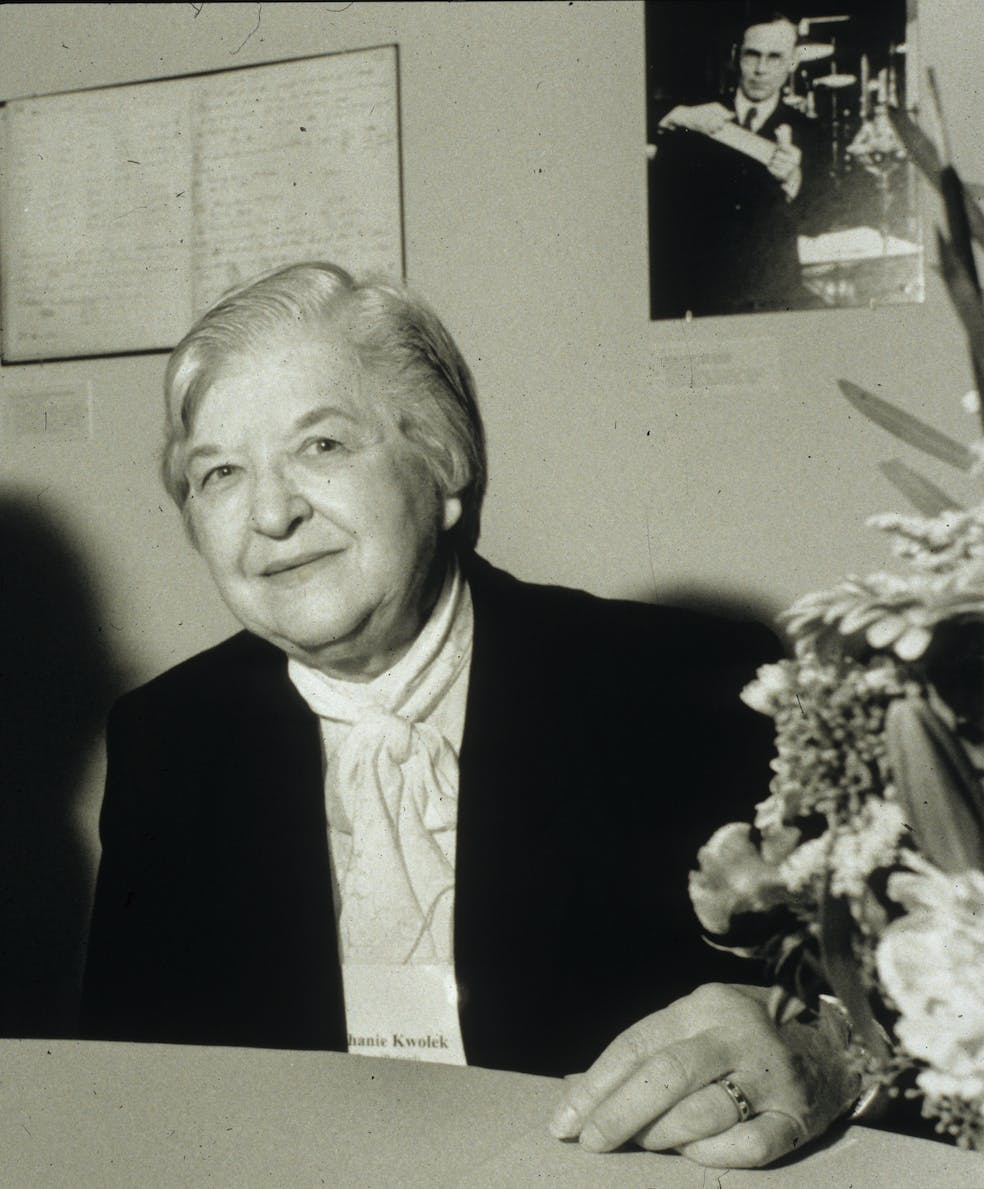 Stephanie Kwolek later in life.