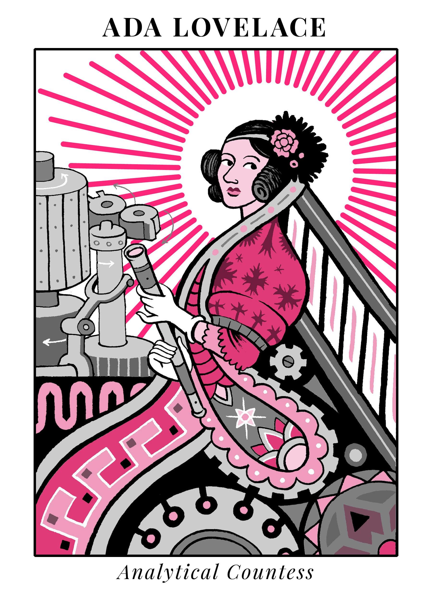 illustration of Ada Lovelace