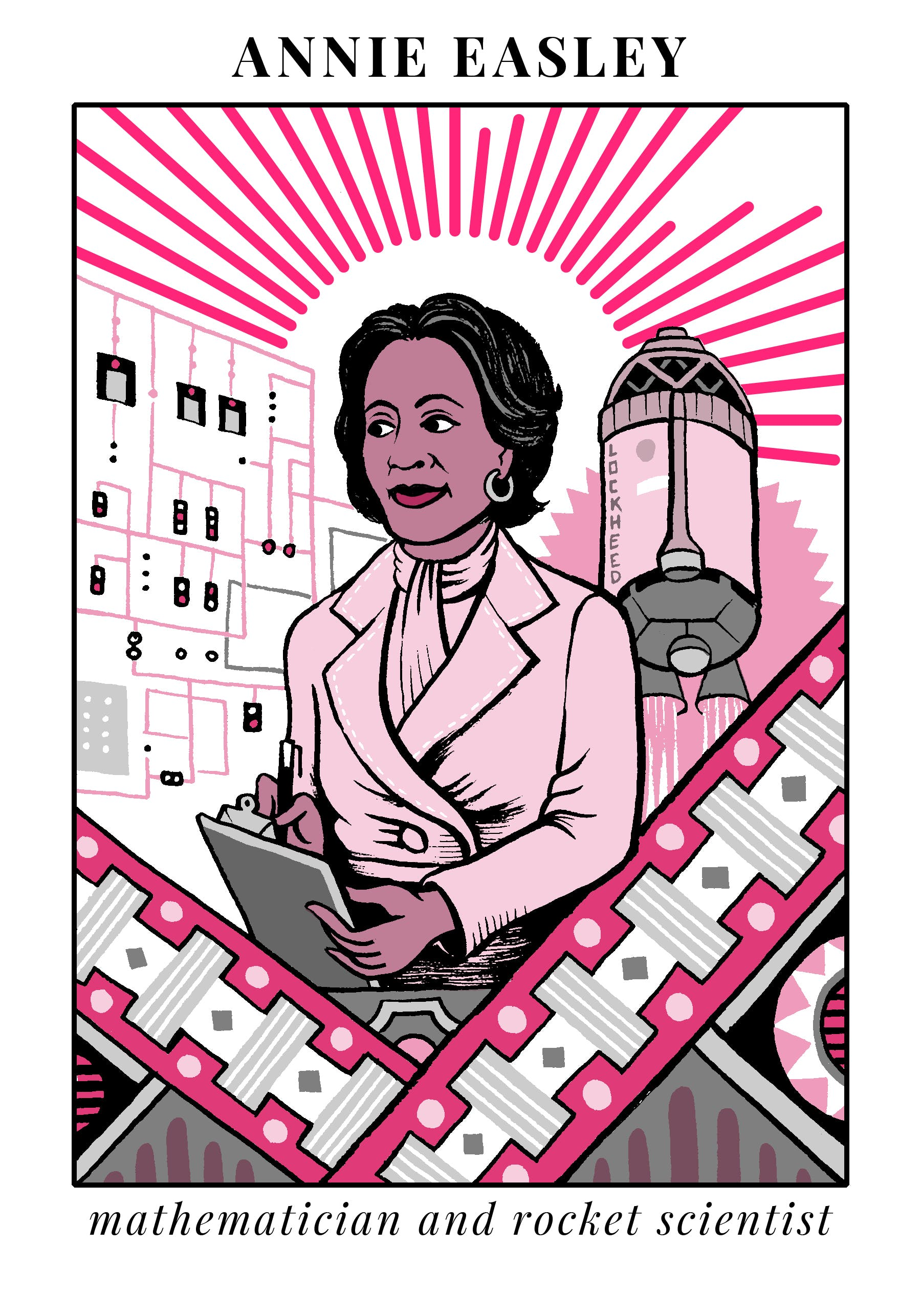 illustration of Annie Easley