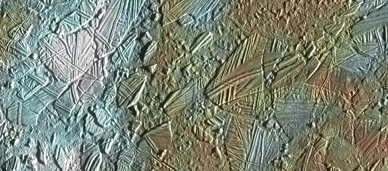 Chaos terrain on Europa