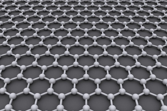 graphene - chemical structure built using molecules